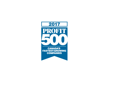 Scarsin included as a Profit 500 2017 company for 3 consecutive years