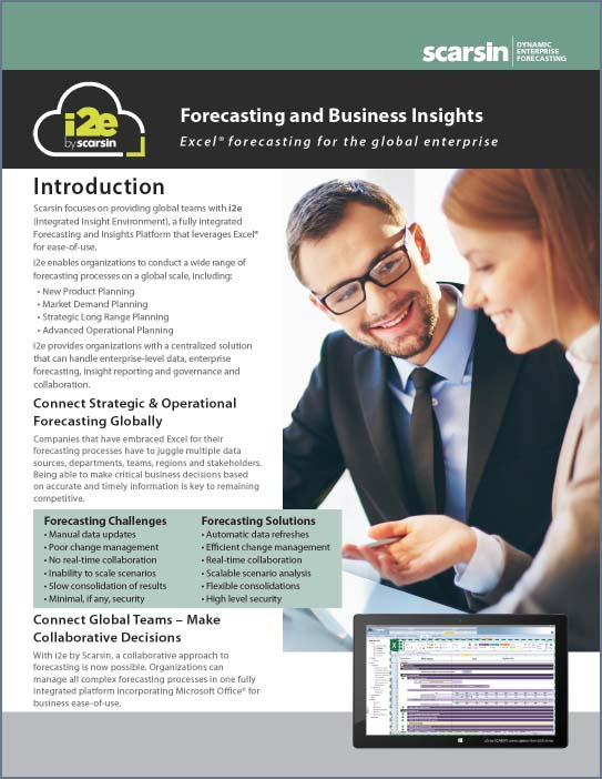 Forecasting & Insights Brochure